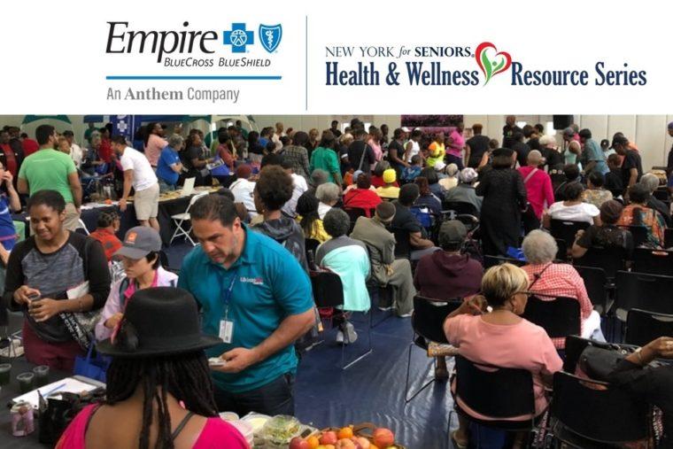 2020 Career And Resource Fair In Harlem.Empire Blue Cross Blue Shield Joins Senior Health Fair In